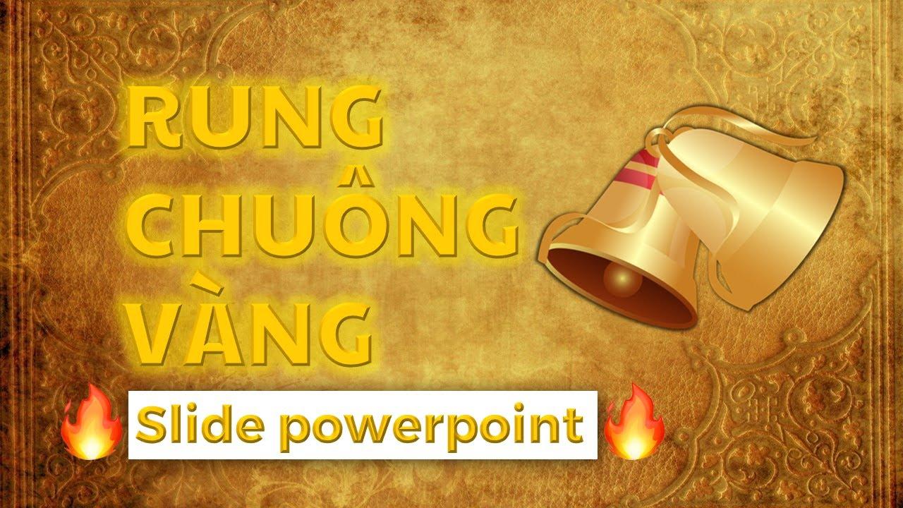 Hướng dẫn thiết kế và Download Game RUNG CHUÔNG VÀNG bằng PowerPoint | Mới nhất 2021