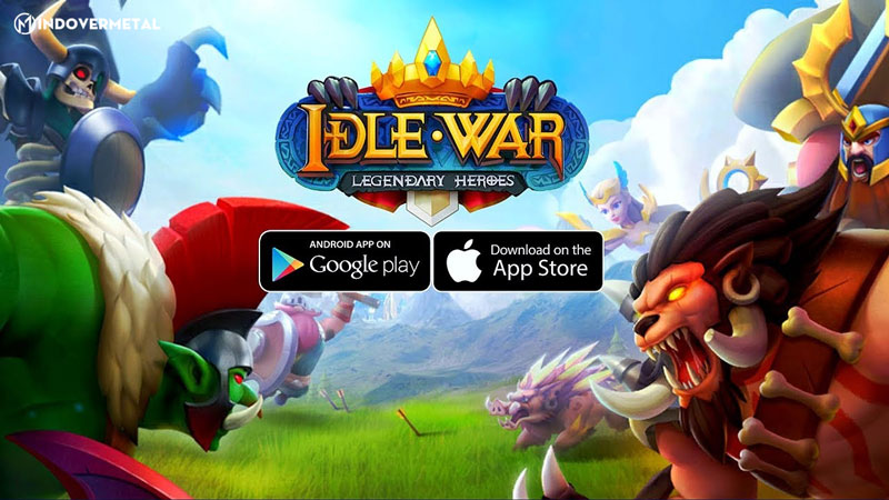 game-danh-theo-luot-idle-war-legendary-heroes-mindovermetal