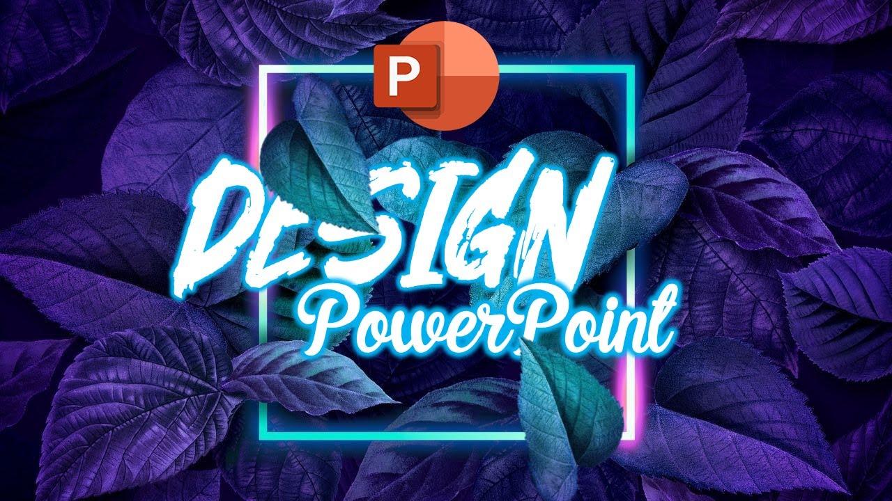 Hướng dẫn thiết kế CHỮ nằm trong ẢNH bằng PowerPoint // Nguyễn Ngọc Dương