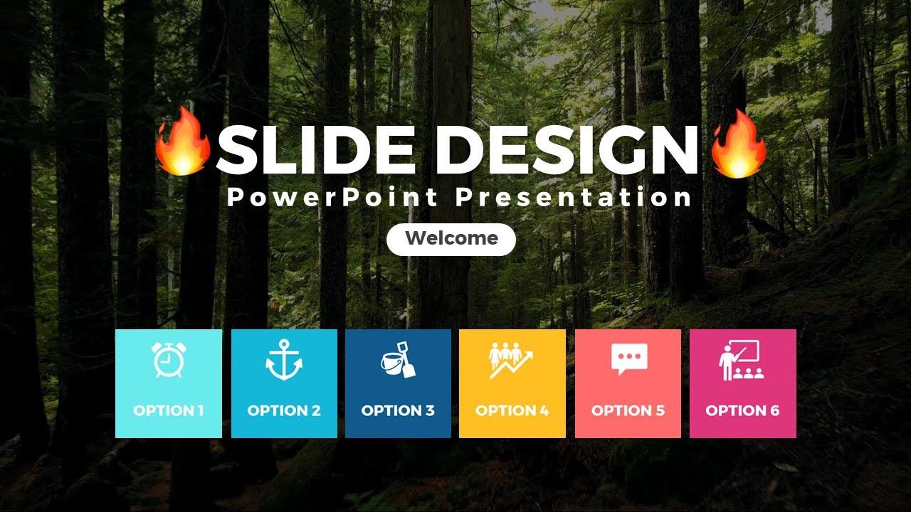 Hướng dẫn thiết kế Slide PowerPoint chuyên nghiệp // Làm Slide kiểu mới