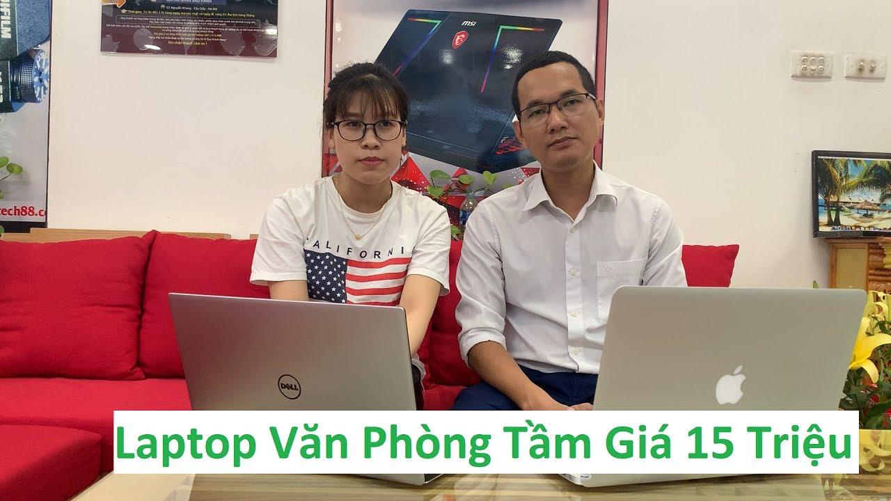 Laptop Văn Phòng Tầm Giá 15 Triệu | Macbook Air 2017 MQD32 | Dell XPS 9360
